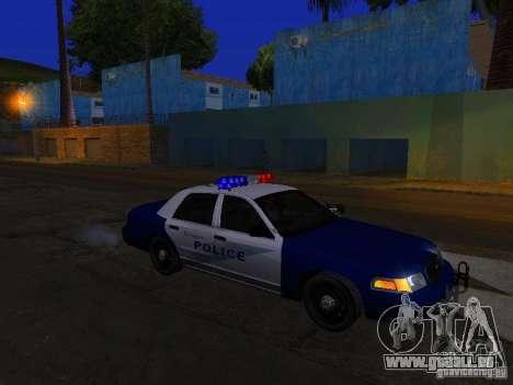 Ford Crown Victoria Belling State Washington für GTA San Andreas Unteransicht