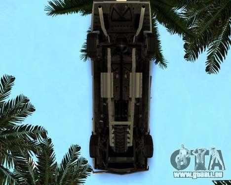 EON Stallion GT-A pour GTA San Andreas vue intérieure