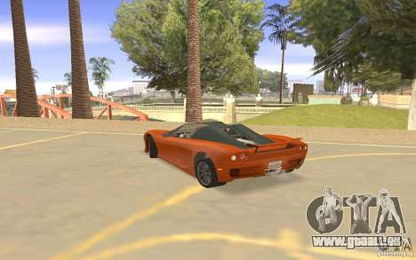 Veloche Auto für GTA San Andreas Rückansicht