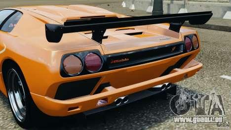 Lamborghini Diablo SV 1997 v4.0 [EPM] pour GTA 4