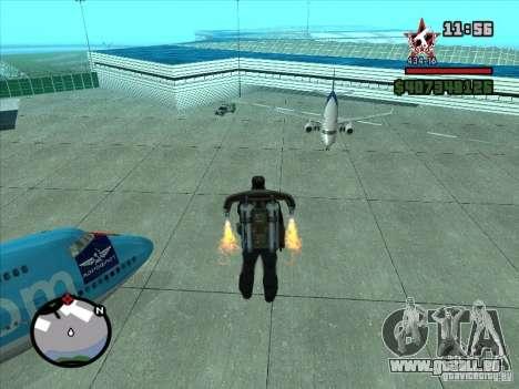 Ein neuer Flughafen in San Fierro für GTA San Andreas siebten Screenshot