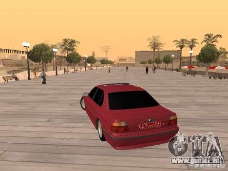 BMW 750iL e38 Diplomat für GTA San Andreas linke Ansicht