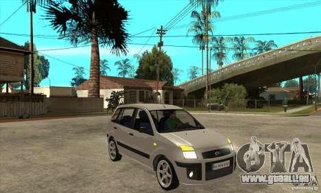 Ford Fusion 2009 für GTA San Andreas Rückansicht