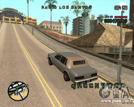 New Fonts pour GTA San Andreas