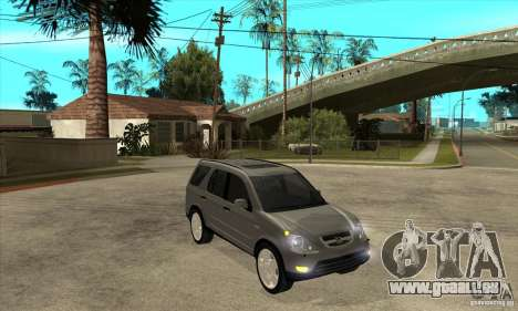 Honda CRV (MK2) pour GTA San Andreas vue arrière