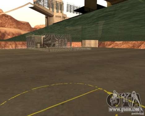 Base du DRAGON pour GTA San Andreas quatrième écran