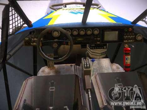 Ickler Jimco Buggy pour GTA San Andreas vue de dessus