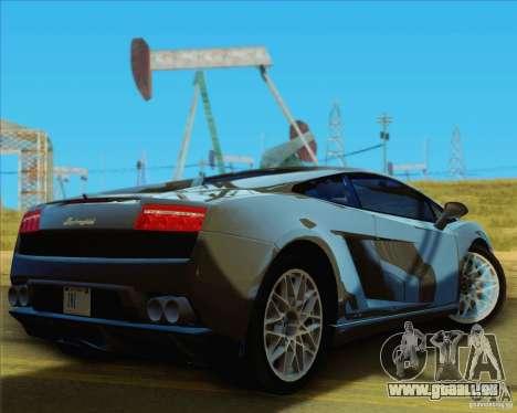 Lamborghini Gallardo LP560-4 pour GTA San Andreas vue de droite