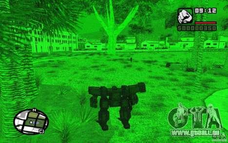 Exoskelett für GTA San Andreas fünften Screenshot