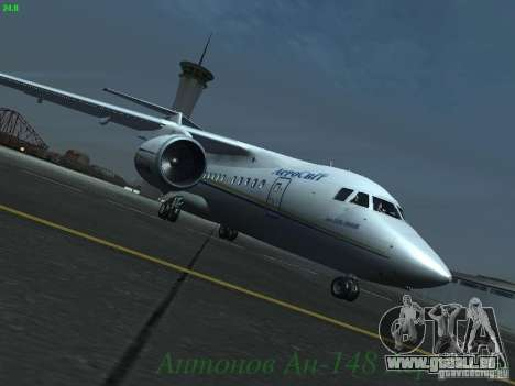Antonow an-148 Aerosvit Ukrainian Airlines für GTA San Andreas