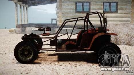 Half Life 2 buggy pour GTA 4 Vue arrière