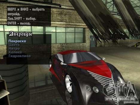Thunderbold SlapJack für GTA San Andreas Motor