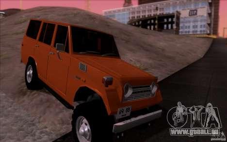 Toyota Land Cruiser FJ55 für GTA San Andreas Rückansicht
