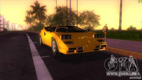 Lamborghini Countach für GTA Vice City