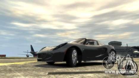 Lotus Elise v2.0 pour GTA 4 vue de dessus