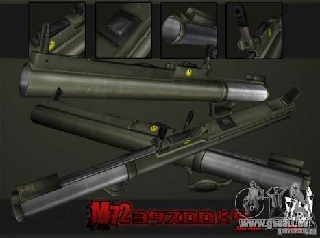 M72 LAW-Bazooka für GTA San Andreas