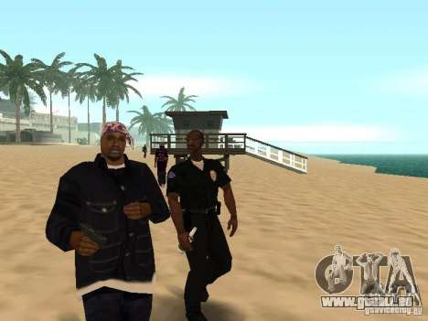 Tenpenny pour GTA San Andreas deuxième écran