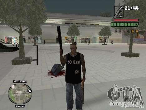 50 Cent-Tank-top für GTA San Andreas