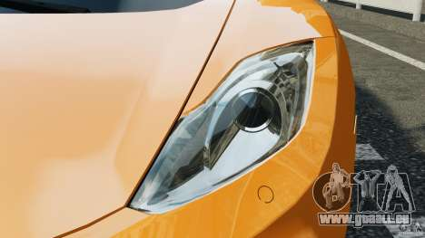 McLaren MP4-12C v1.0 [EPM] pour GTA 4 Salon