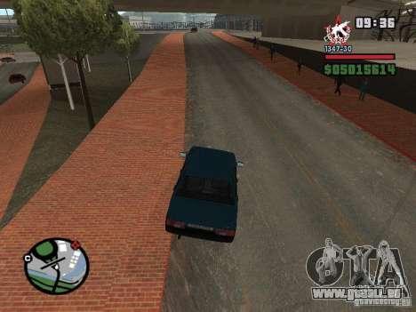 Todas Ruas v3.0 (San Fierro) pour GTA San Andreas troisième écran