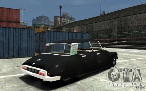 Citroen ID 19 für GTA 4 rechte Ansicht