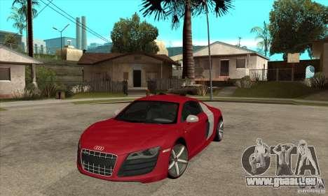 Audi R8 V10 für GTA San Andreas