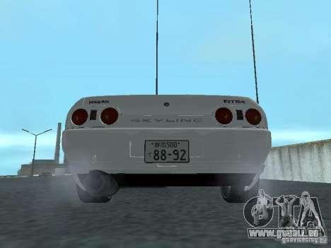 Nissan Skyline R32 Zenki pour GTA San Andreas vue de droite
