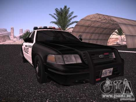 Ford Crown Victoria Police 2003 für GTA San Andreas linke Ansicht
