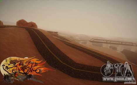 New Roads Las Venturas v1.0 pour GTA San Andreas sixième écran