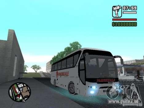 Neoplan Tourliner pour GTA San Andreas vue de droite