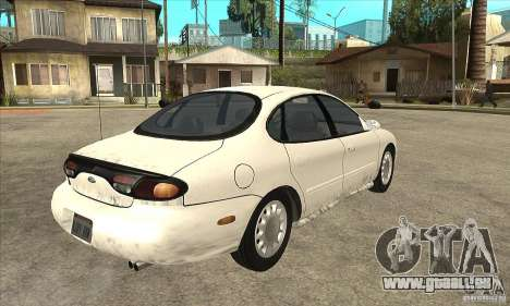 Ford Taurus 1996 pour GTA San Andreas vue de droite