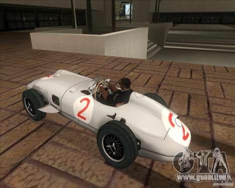 Daimler-Benz AG Juan Manuel Fangio für GTA San Andreas linke Ansicht