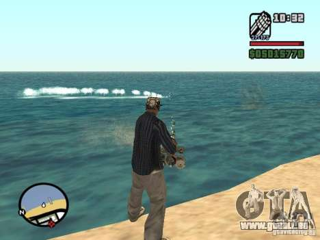 Overdose effects V1.3 pour GTA San Andreas