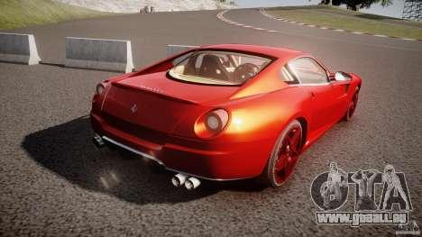 Ferrari 599 GTB Fiorano 2006 (Beta) pour GTA 4 est un côté