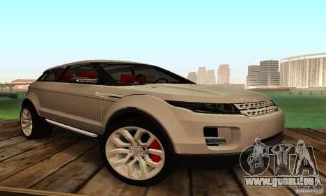 Land Rover Range Rover Evoque pour GTA San Andreas