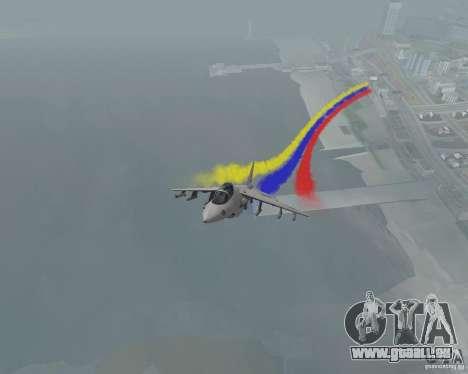 Bunt Streifen für Flugzeuge für GTA San Andreas