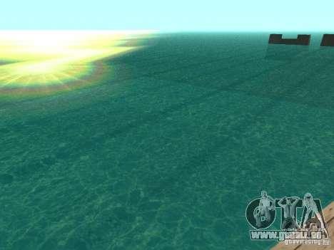 L'eau par défaut pour GTA San Andreas troisième écran