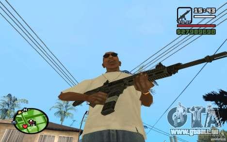 ACW-R HD pour GTA San Andreas quatrième écran
