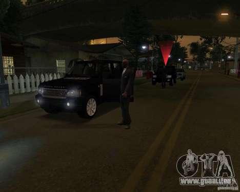 Schutz in einem jeep für GTA San Andreas