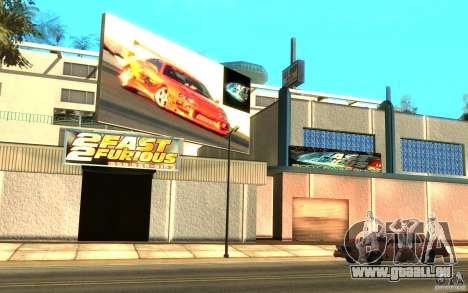 2Fast2Furious Transfender & Pay and Spray pour GTA San Andreas
