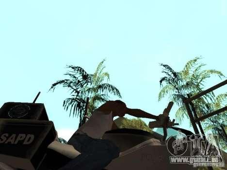 NRG-500 Police pour GTA San Andreas vue intérieure