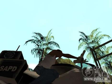 NRG-500 Police für GTA San Andreas Innenansicht