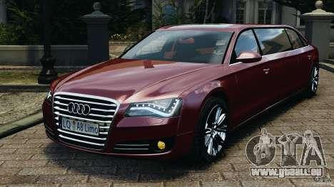 Audi A8 Limo v1.2 pour GTA 4