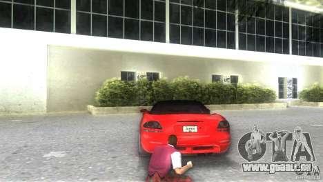 Dodge Viper SRT 10 Coupe für GTA Vice City linke Ansicht