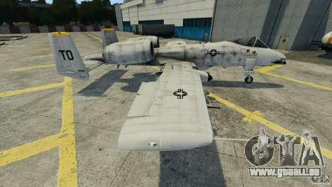 A-10A Thunderbolt II pour GTA 4 est une gauche