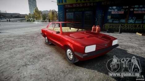 Ford Taunus für GTA 4 rechte Ansicht