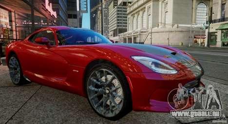 Dodge Viper GTS 2013 für GTA 4