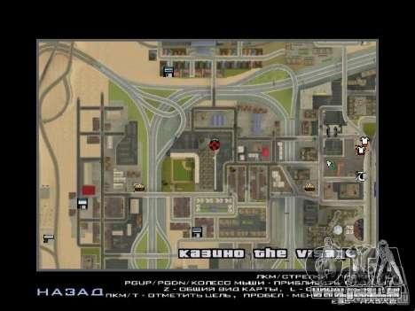 Concert de l'AK-47 v2 pour GTA San Andreas neuvième écran