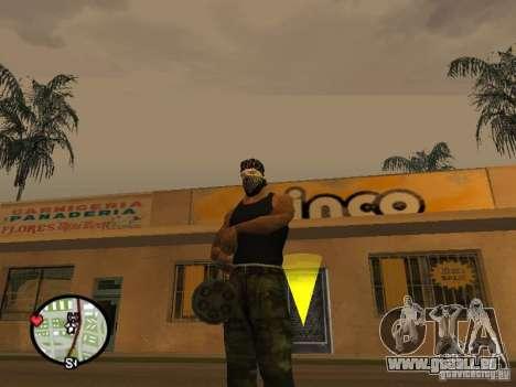 M134 Minigun aus CoD: Mw2 für GTA San Andreas her Screenshot