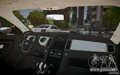 Ford Taurus SHO 2010 pour GTA 4 est un côté